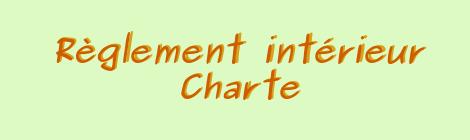 Règlement intérieur et charte des AMAP